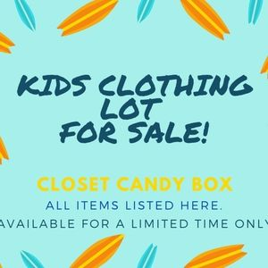 KIDS BOYS CLOTHING LOT: See what you get...